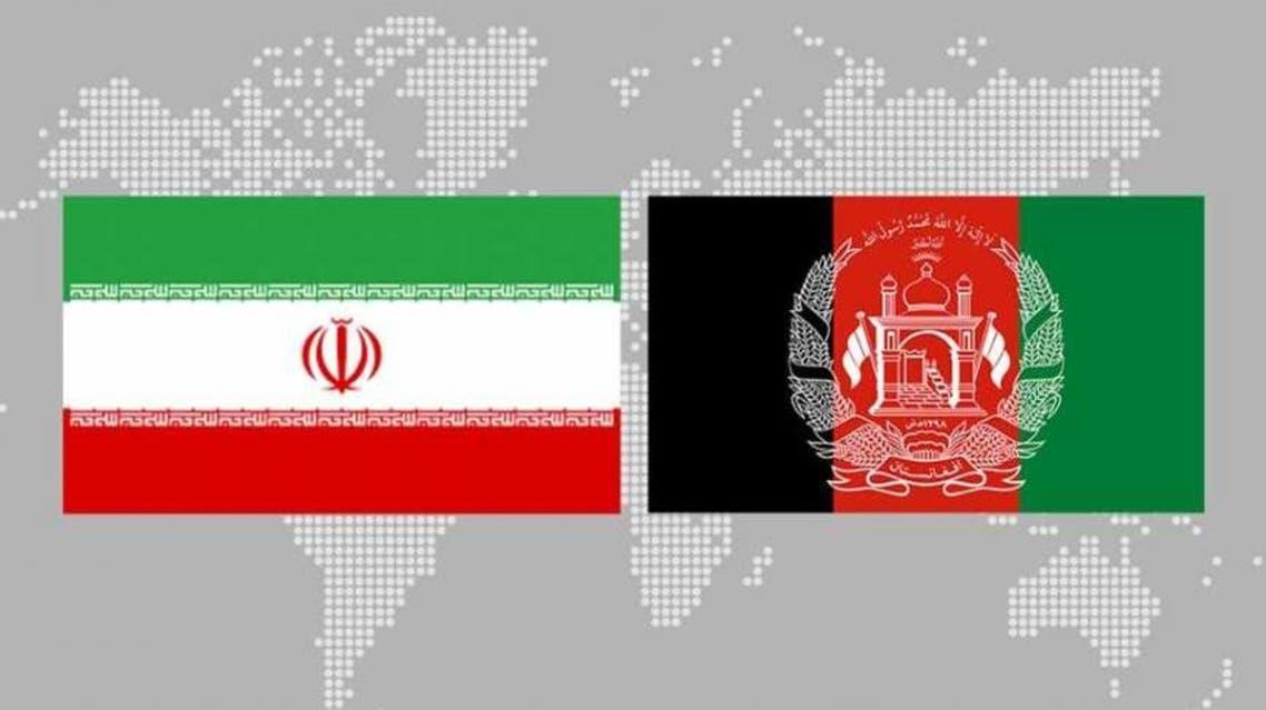پرچم افغانستان و ایران