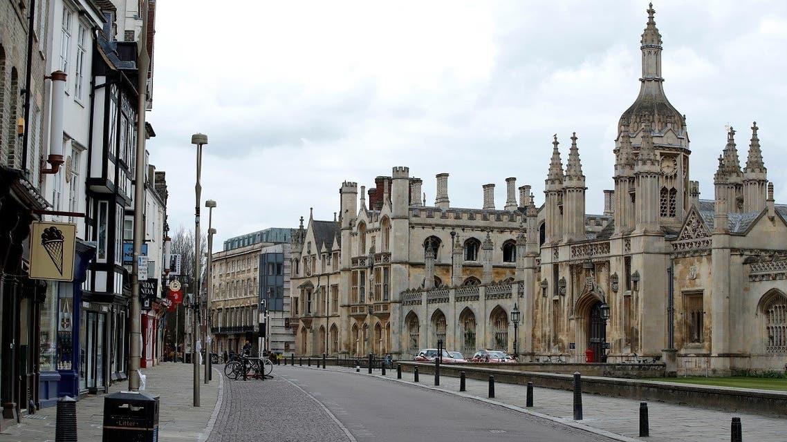 CORONAVIRUS-BRITAIN- Cambridge University, as the spread of the coronavirus continues, Cambridge, - AP