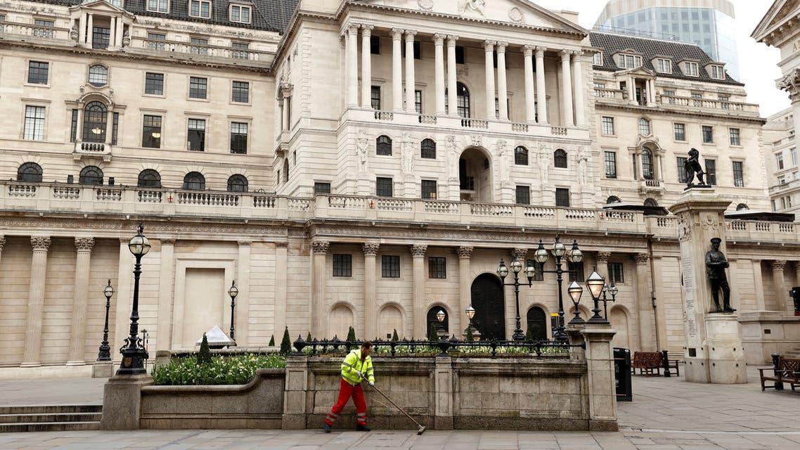 مقر بنك انجلترا في لندن (أرشيفية-رويترز)