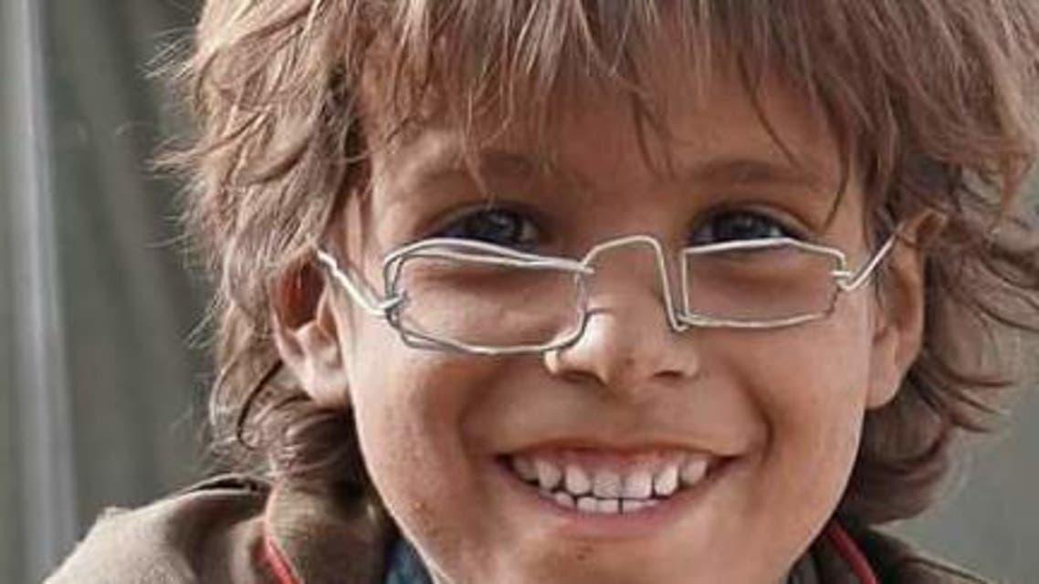 محمد- وهو طفل ينزح حاليا مع أسرته بمحافظة مأرب