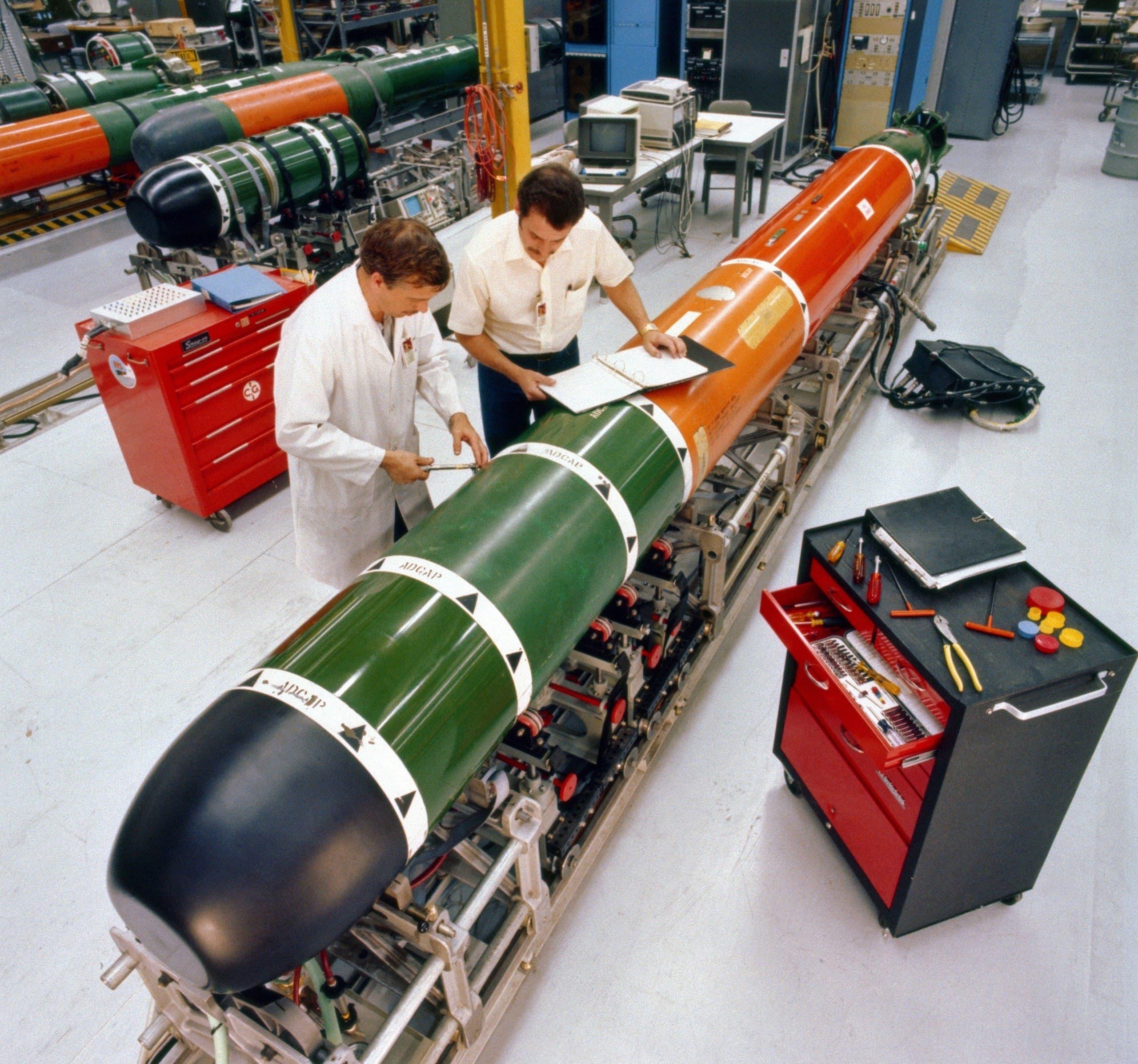 Mk 48 torpedo maintenance