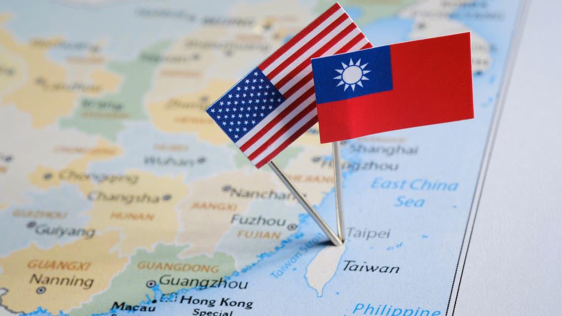 أعلام الولايات المتحدة و تايوان