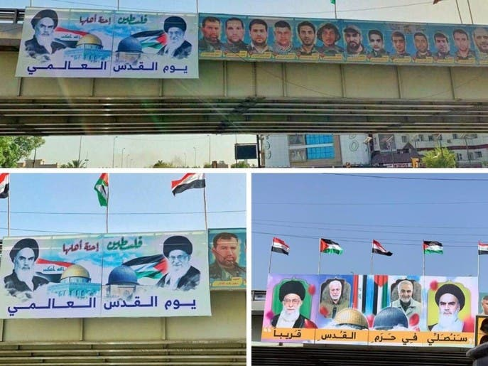 صور لشخصيات إيرانية أو مقربة من إيران تثير غضب العراقيين