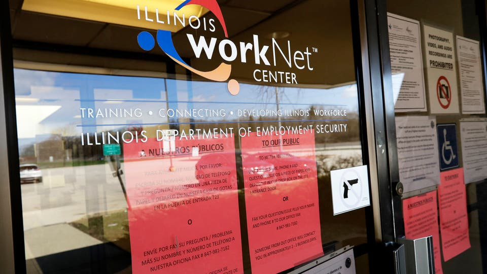 Coronavirus: Layoffs in US swell to nearly 39 million