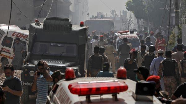 انتشال 41 جثة من حطام طائرة الركاب الباكستانية