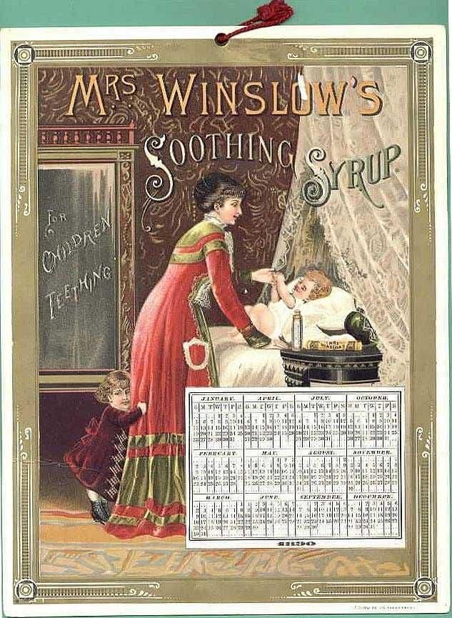 صورة دعائية للدواء باحدى بطاقات التقويم