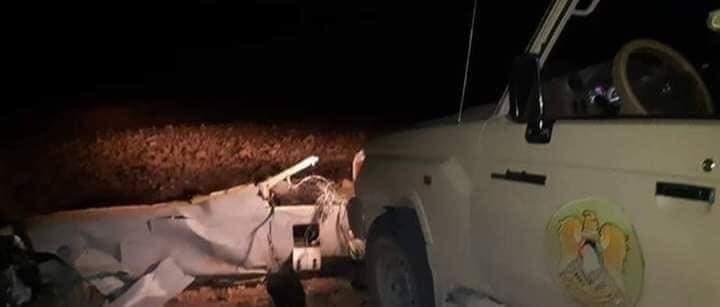 مسيرة تركية أسقطها الجيش الليبي