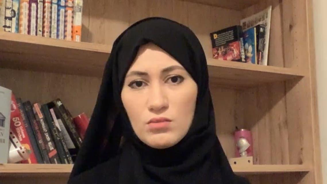 Asma Arian, the wife of jailed Sheikh Talal Al-Thani. (Screengrab)