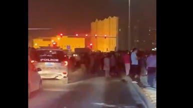 تظاهرة للعمال الأجانب في الدوحة بسبب عدم دفع الرواتب