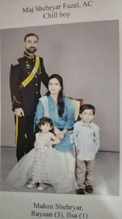 ضابط قضى وزوجته وطفلاه في الحادث