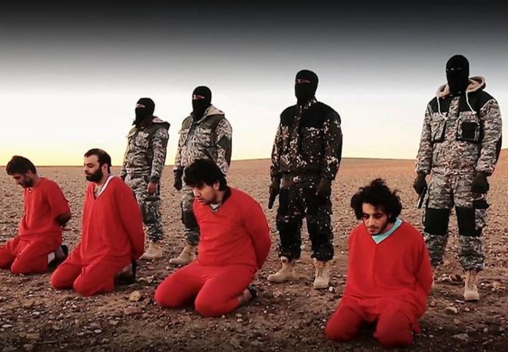داعش ينفذ الإعدام في ضحاياه
