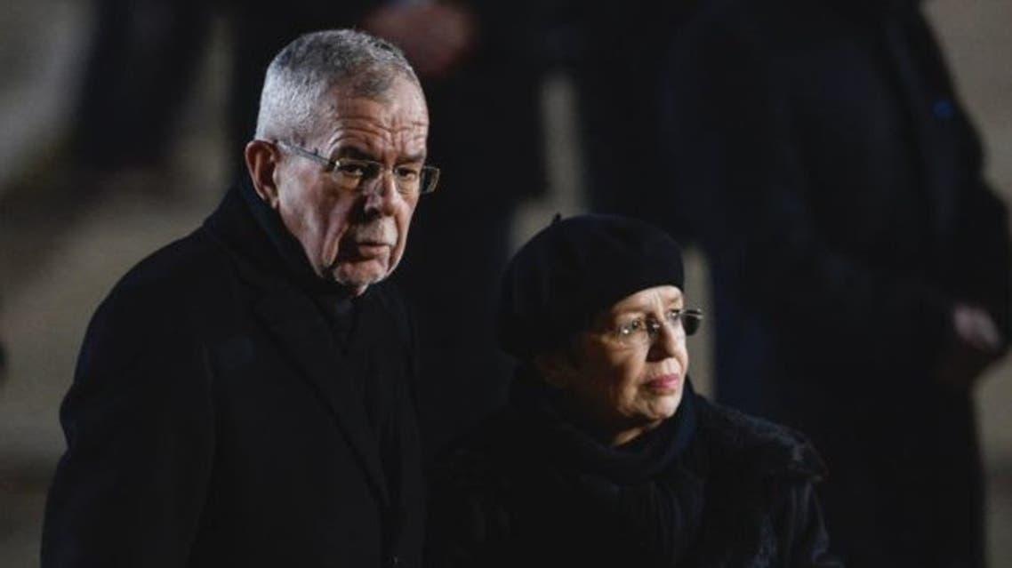 رئيس النمسا وزوجته