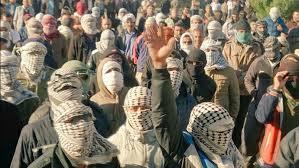 من مظاهرات عمال قصب السكر شمال الاهواز