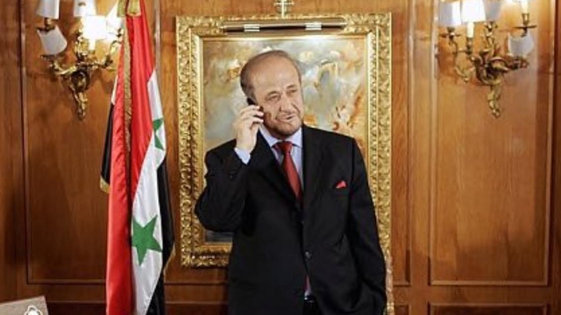 رفعت الأسد فرانس برس
