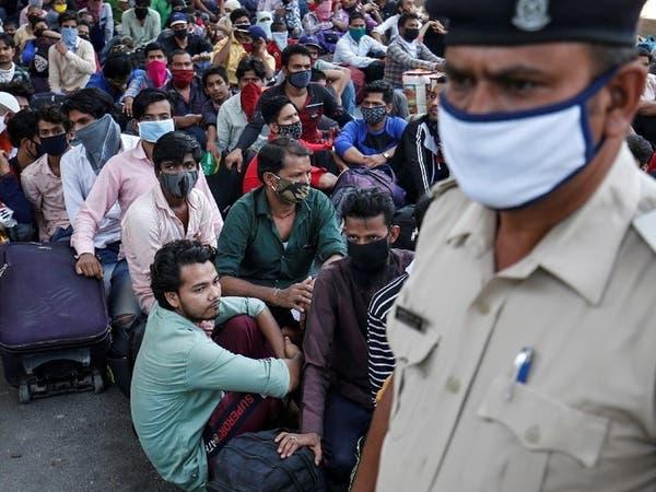 إصابات كورونا في الهند تتخطى حاجز المليون إصابة
