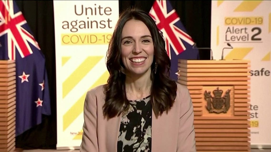 New Zealand Prime Minister Jacinda Ardern was unflustered by an earthquake that struck the capital Wellington while she was doing a live TV interview. (Screengrab)