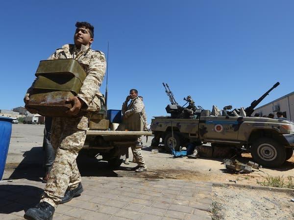 طائرة شحن عسكرية تركية تصل مطار مصراتة