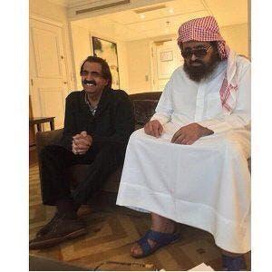 أمير قطر السابق الأمير حمد بن خليفة آل ثاني