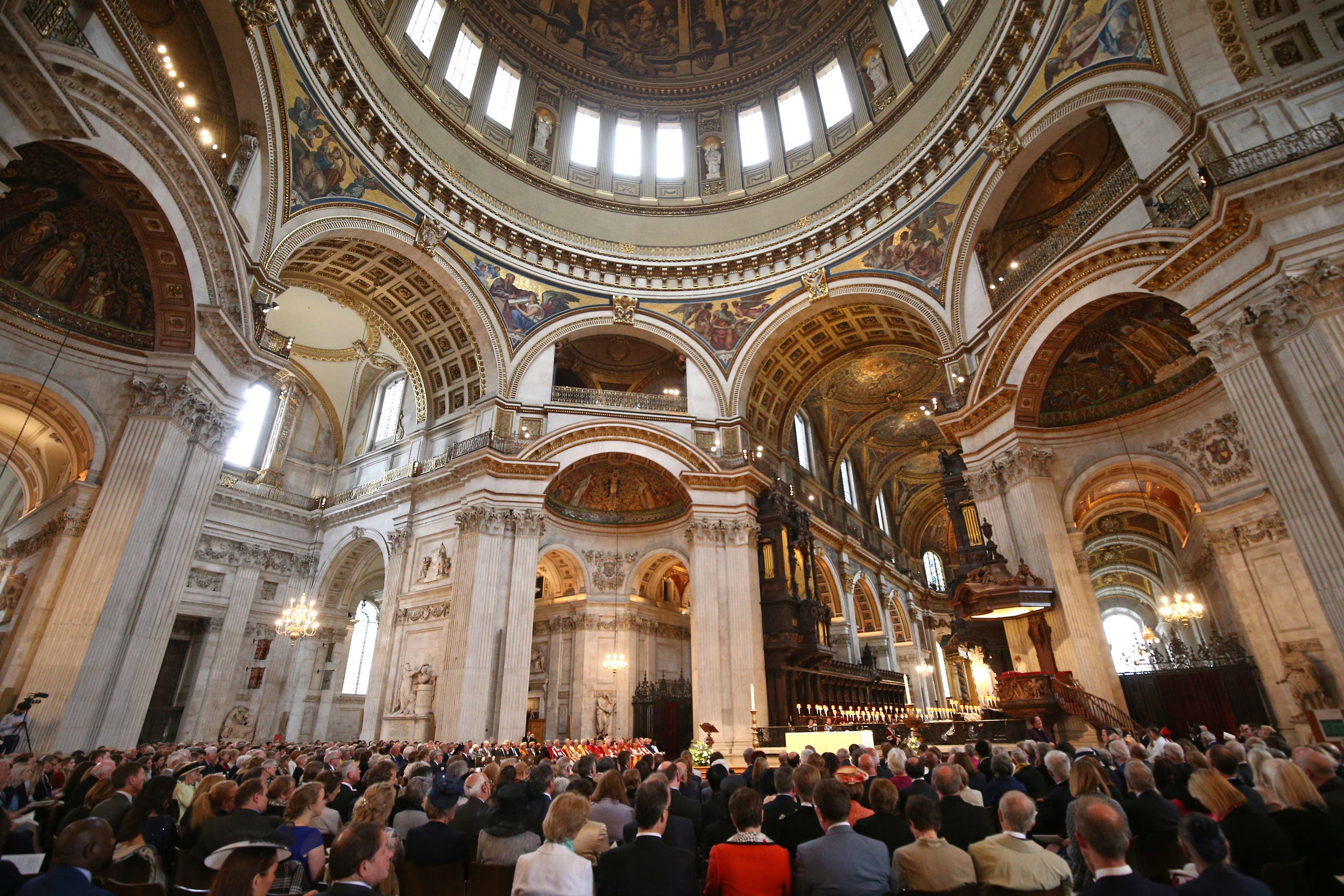 St Paul's Cathedral in London on May 12, 2018. (File photo: AP)