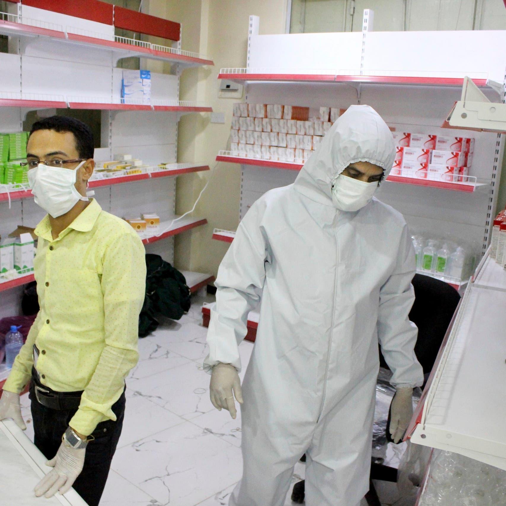 استنفاد السعة السريرية لعلاج مصابي كورونا في عدن