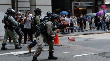بعد قيود واشنطن.. تظاهرة كبيرة ضد الصين بهونغ كونغ