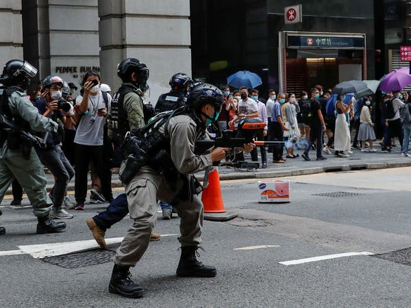 على وقع التظاهرات.. هونغ كونغ لواشنطن: تكيلون بمكيالين!