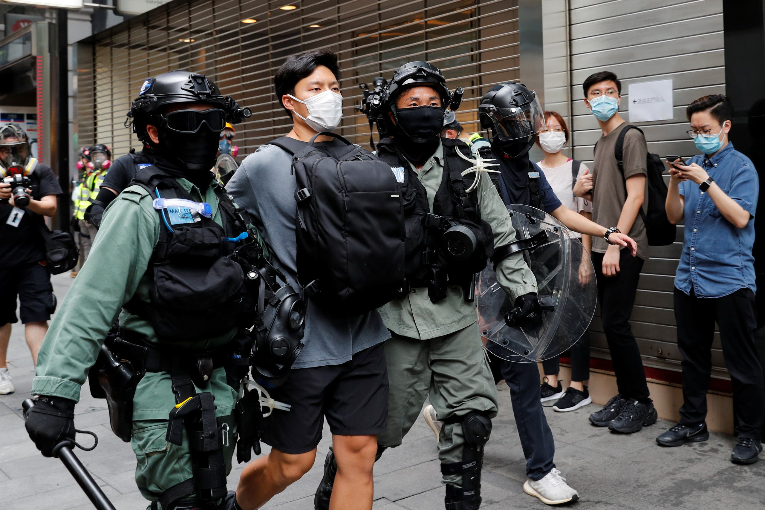 من تظاهرات هونغ كونغ