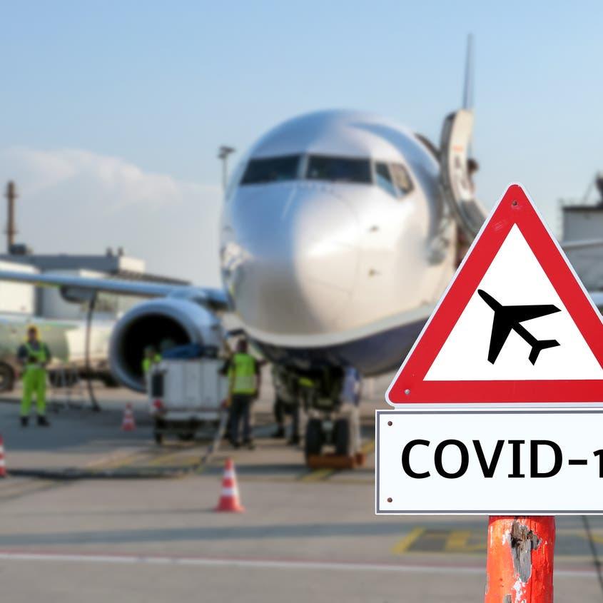 أرقام صادمة وراء ضربة كورونا لقطاع الطيران