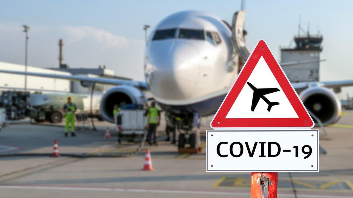 كورونا مطار تعبيرية