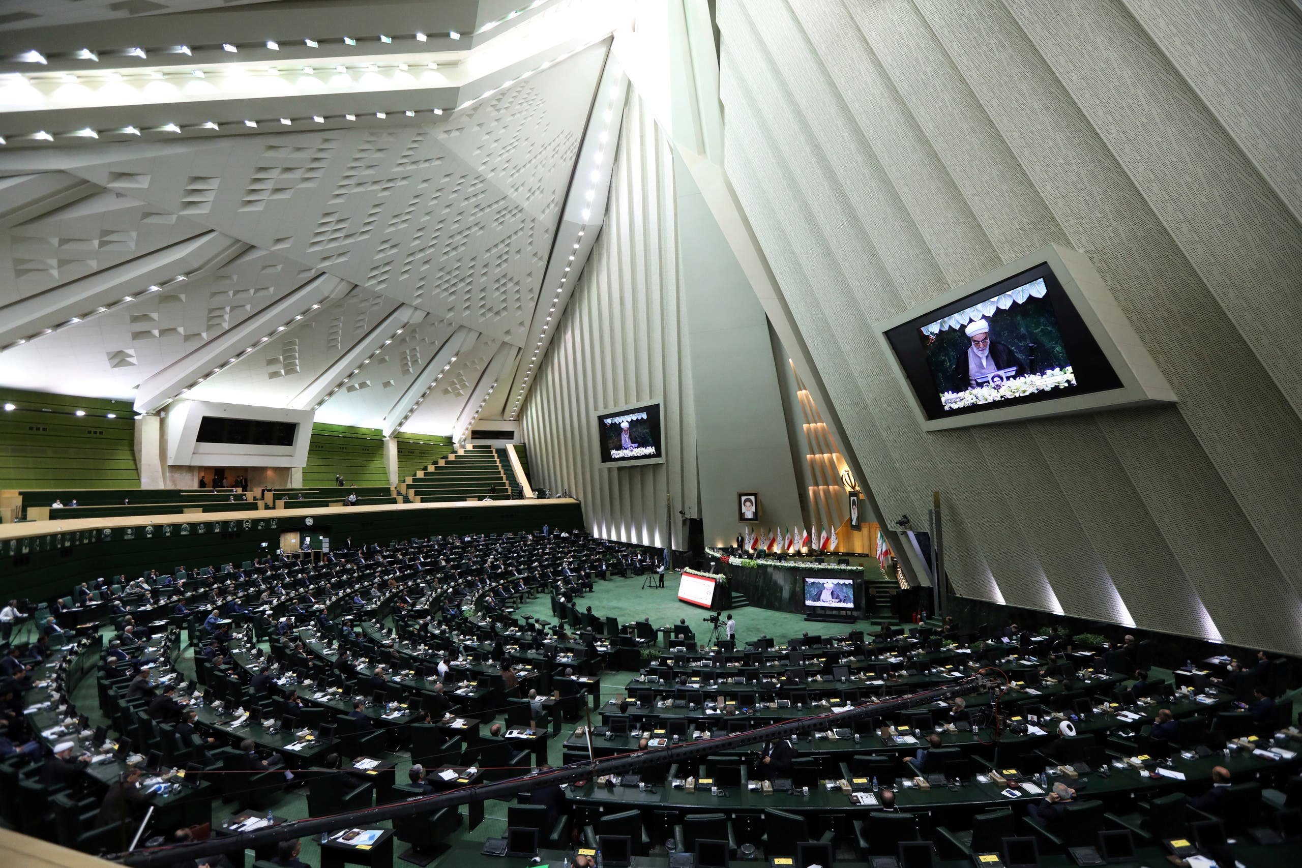 A general view of the Iranian parliament. (File photo: Reuters)