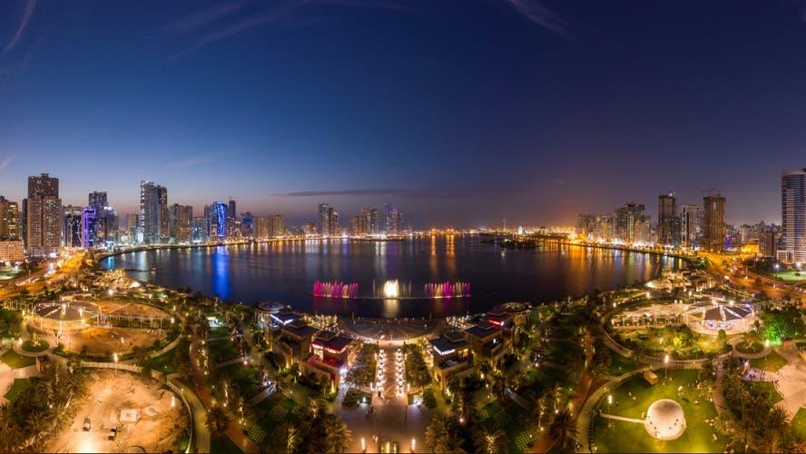 The popular Al Majaz Waterfront in Sharjah. (Courtesy: Shurooq)