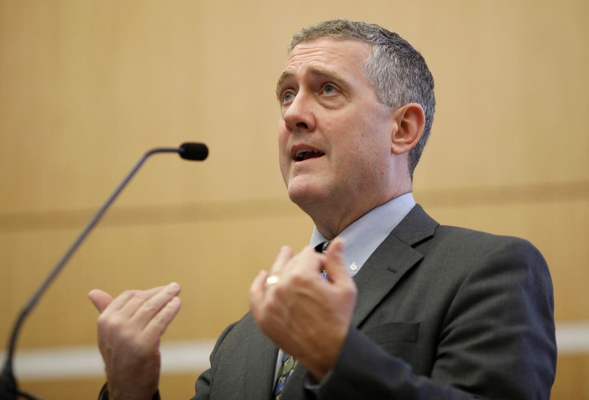 St. Louis Federal Reserve Bank President James Bullard speaks at a public lecture in Singapore. (File photo: Reuters)