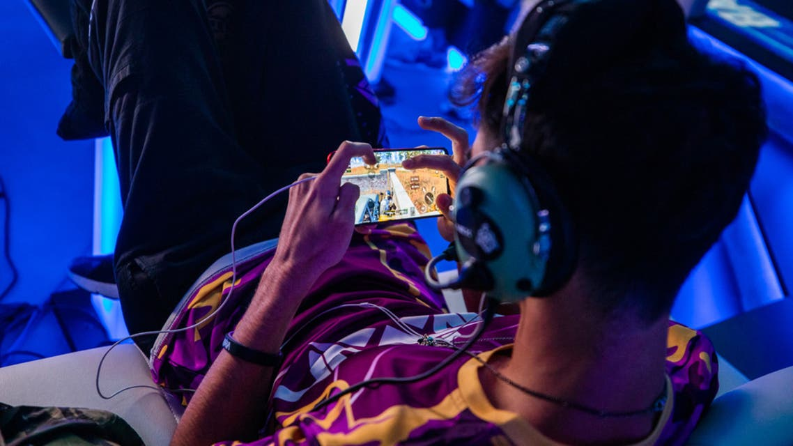 A Fortnite player competing in Gamers Without Borders. (Supplied)