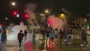 تظاهرات ضد الممارسات العنصرية للشرطة الأميركية