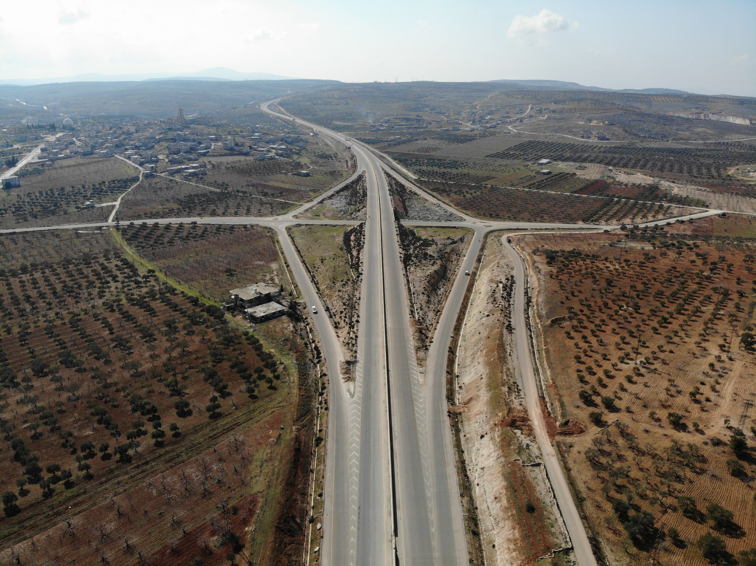m4  طريق حلب اللاذقية (فرانس برس)