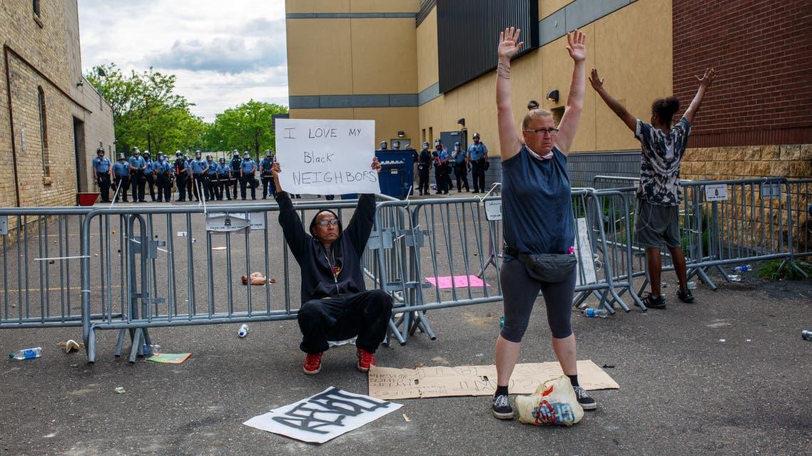 منيابوليس احتجاجات