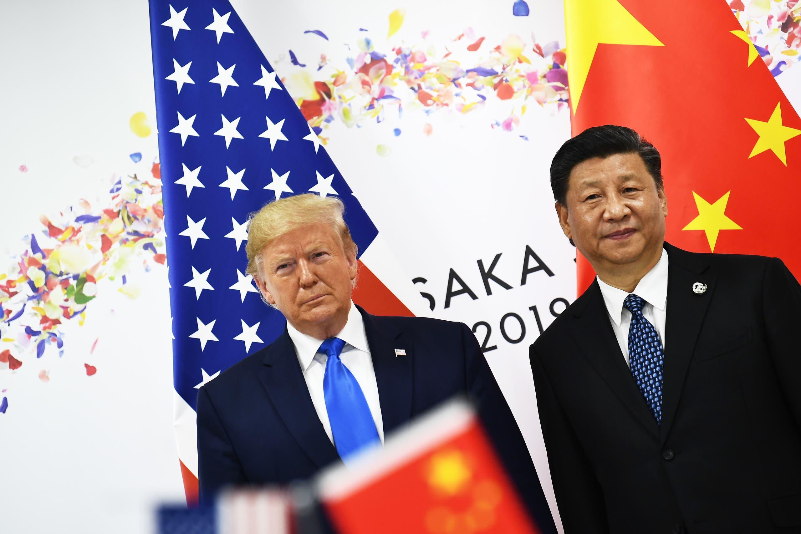 الرئيسان الصيني والأميركي (أرشيفية- فرانس برس)