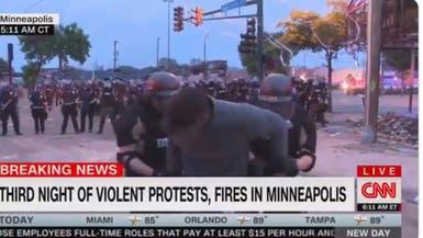 فيديو..  إطلاق مراسل CNN بعد ساعة من اعتقاله على الهواء