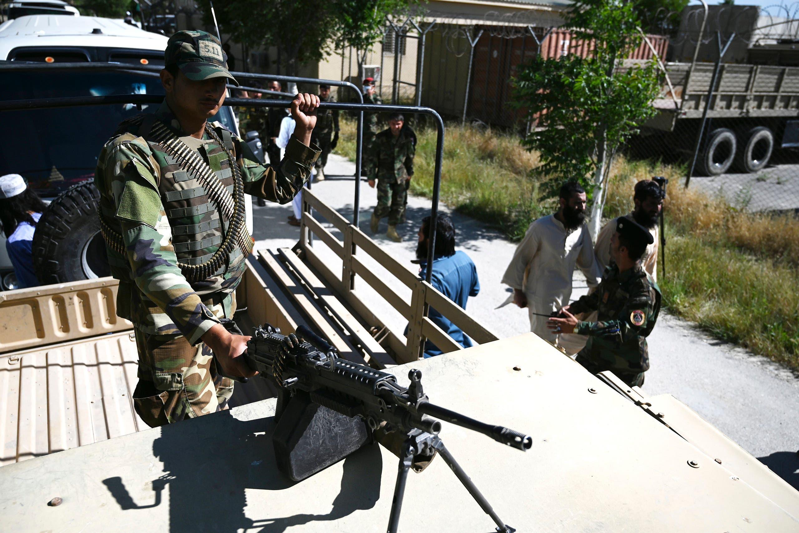عناصر من طالبان في أفغانستان