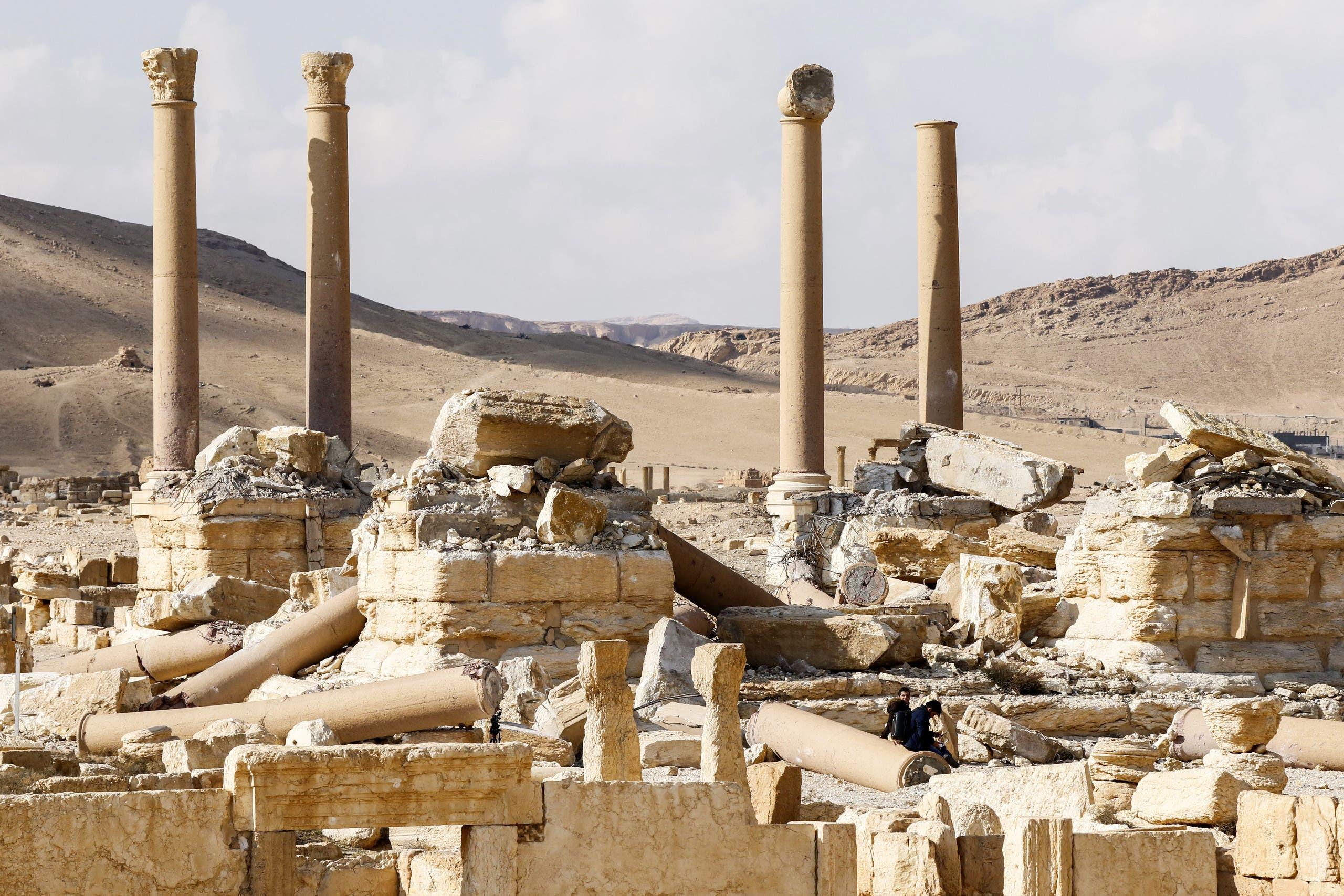تدمر السورية (فرانس برس)