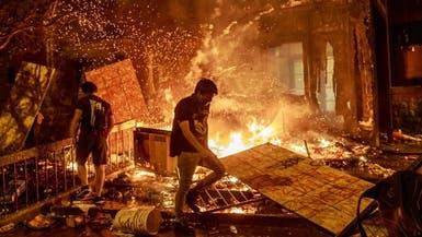 فوضويون يعيثون خرابا بأميركا.. ويخطفون احتجاجات سلمية