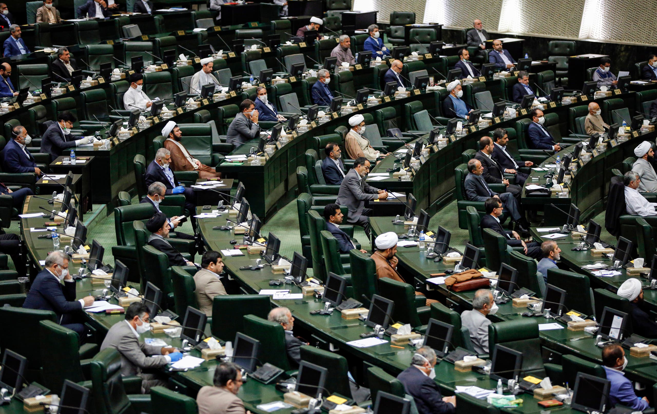 من البرلمان الإيراني (أرشيفية- فرانس برس)
