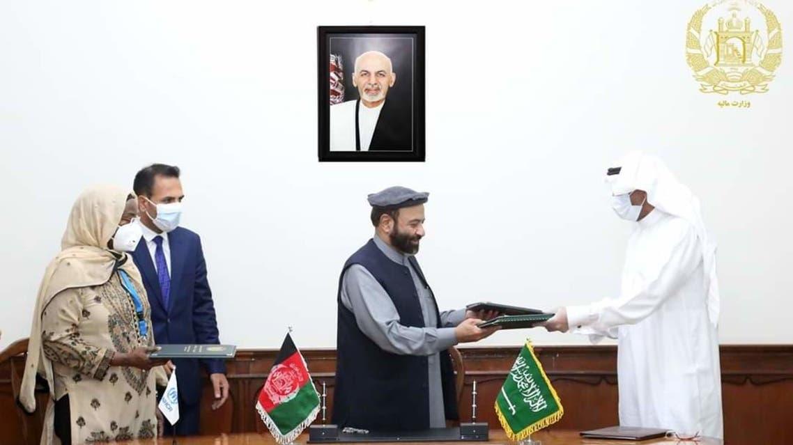 امضای موافقتنامه همکاری میان افغانستان، سعودی و کمشنری عالی سازمان ملل