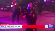 US protests: Police department apologizes for shooting news crew with pepper balls