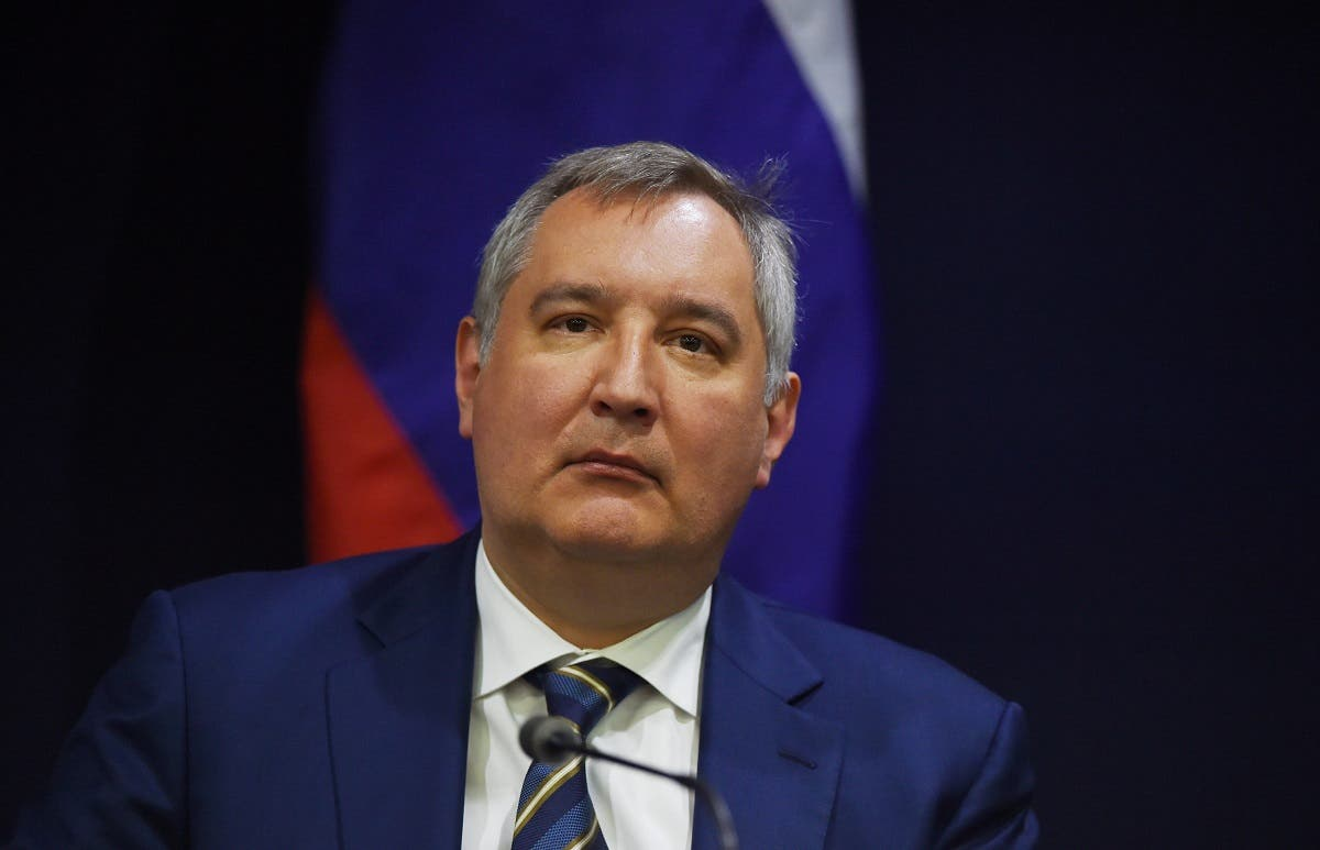 "Russian space agency chief Dmitry Rogozin once ridiculed the lack of a US manned flight program, saying it might as well ""deliver its astronauts to the ISS by using a trampoline."" (File photo: AFP)"