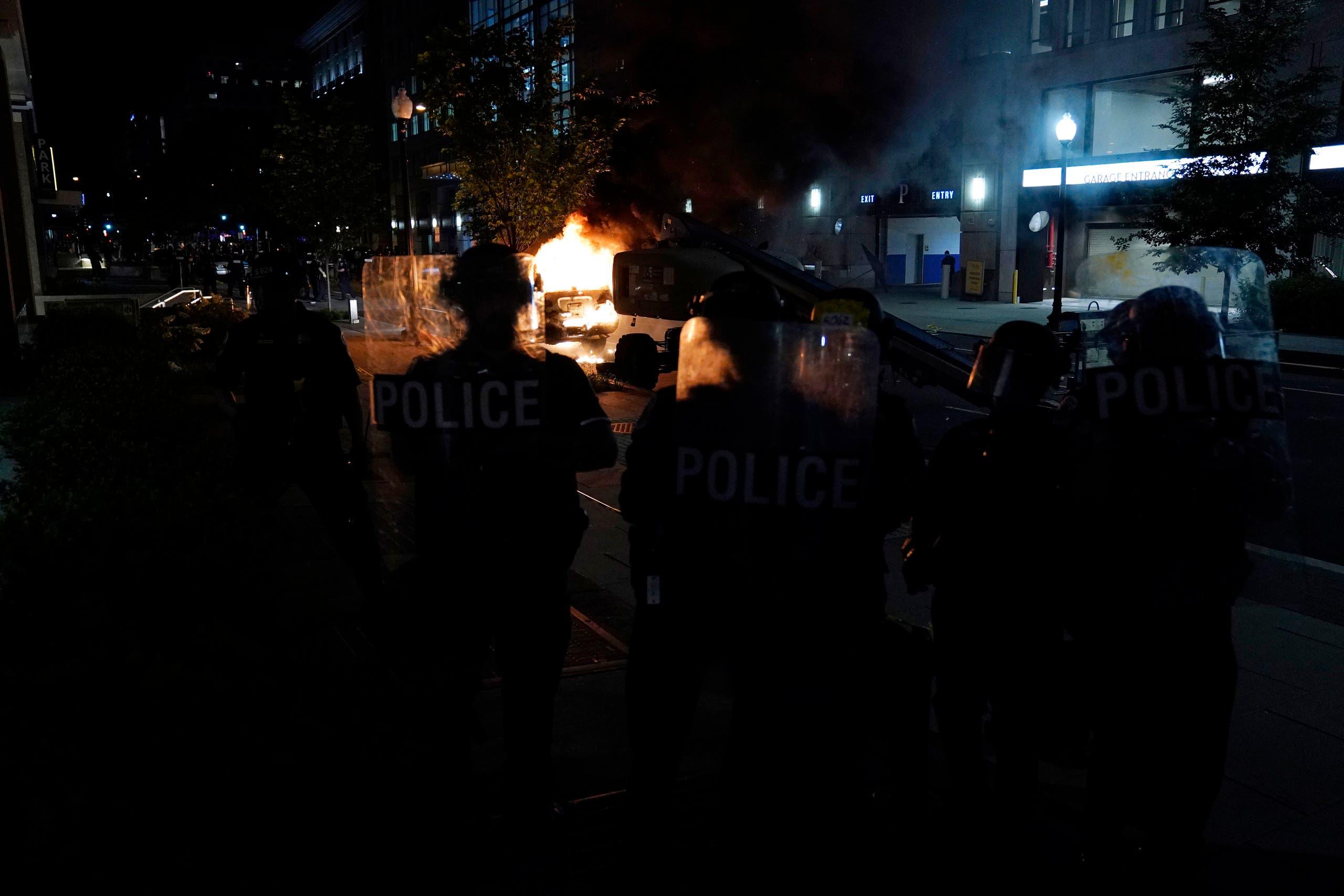 من الاحتجاجات الأميركية