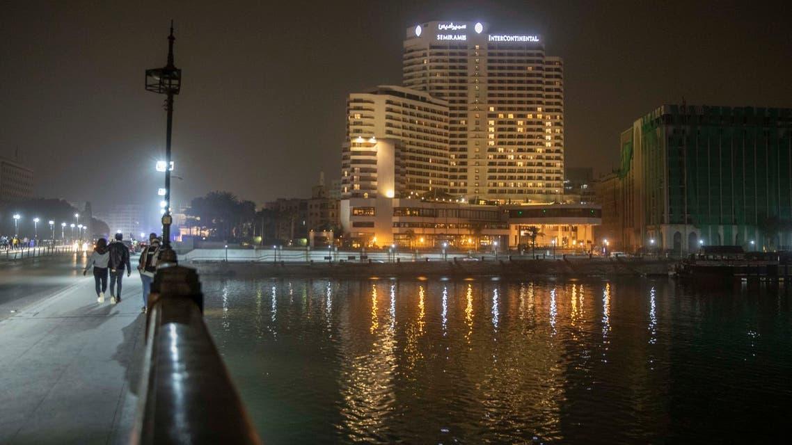 AP_Cairo -hotel - coronavirus