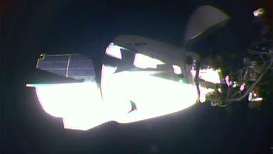 """التحام مركبة  """"سبايس إكس"""" بمحطة الفضاء الدولية"""