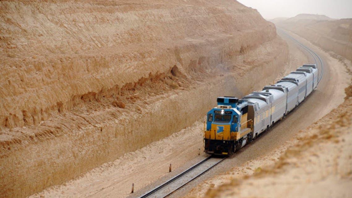 Saudi Passenger train. (SRO)