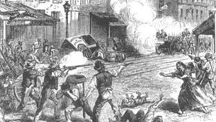 يوم التهمت أعمال الشغب نيويورك وسقط الآلاف